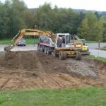 Beginn der Bauarbeiten Senioren WG Haiderbach