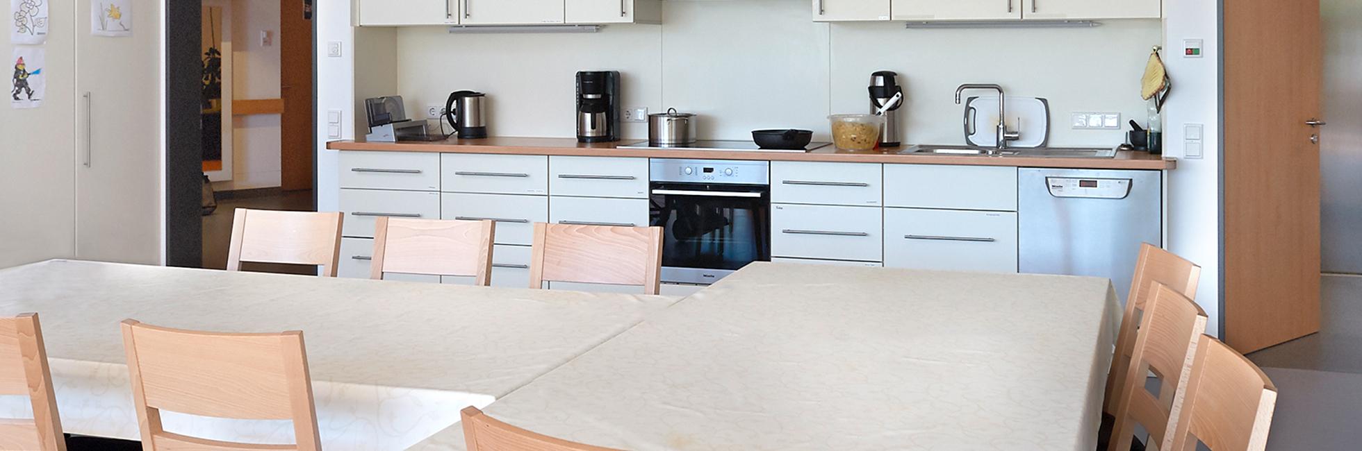 Senioren WG Haiderbach geräumige Küche